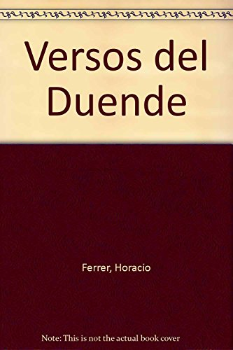 9789500514729: Versos del Duende (Spanish Edition)