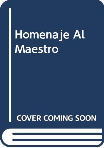 9789500515634: Homenaje Al Maestro (Spanish Edition)