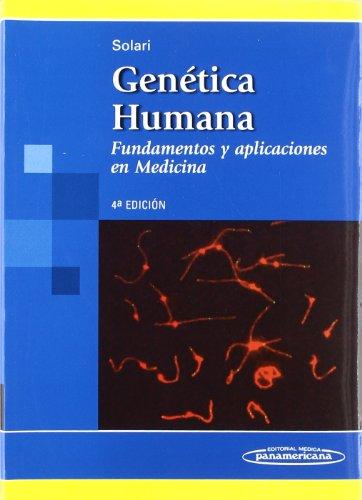 9789500602693: Genetica humana: Fundamentos y aplicaciones en medicina (Spanish Edition)