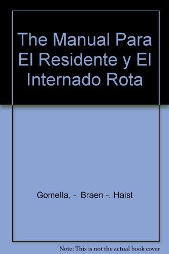 9789500608589: The Manual Para El Residente y El Internado Rota