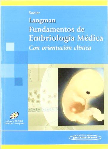 9789500613736: Langman. Fundamentos de Embriología Médica. Con Orientación Clínica (Incluye Cd-Rom)