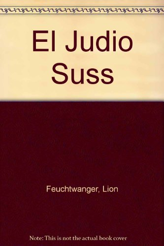 9789500706650: El Judio Suss (Spanish Edition)