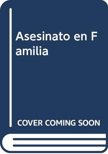 9789500707053: Asesinato en Familia (Spanish Edition)