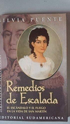 9789500717892: Remedios de Escalada (Narrativas históricas) (Spanish Edition)