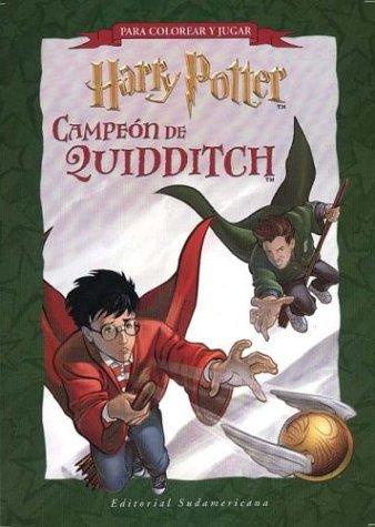 9789500721028: Harry Potter Campeon de Quiddi - Block Actividades