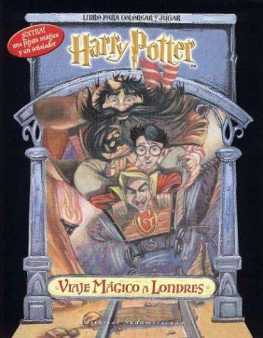 9789500721127: Harry Potter Viaje Magico - Para Colorear