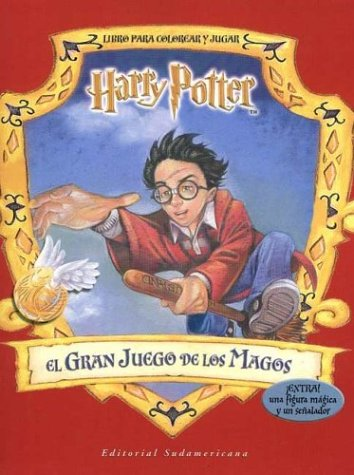 Harry Potter El Gran Juego - Para Colorear (Spanish Edition) (9500721139) by J. K. Rowling