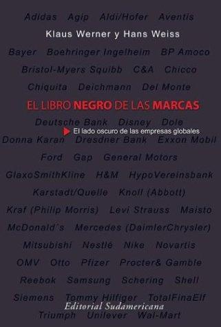 El Libro Negro De Las Marcas (Spanish Edition): Hans Weiss; Klaus Werner