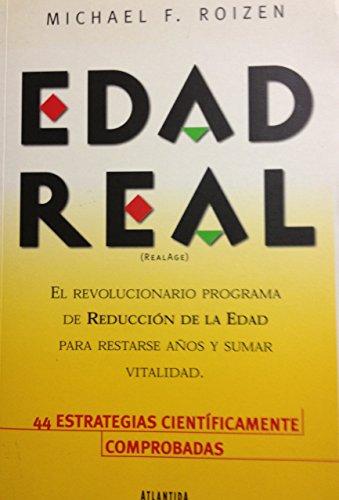 9789500823081: Edad Real (Realage)