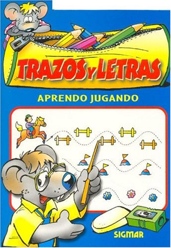 9789501116809: TRAZOS Y LETRAS (Aprendo Jugando / I Learn Playing) (Spanish Edition)