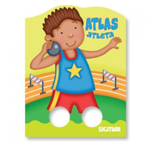 9789501126471: Atlas atleta / Atlas Athlete (De Dos Dedos / Two Fingers) (Spanish Edition)