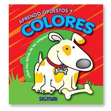 9789501131154: Aprendiendo colores y opuestos / Learning colors and opposites (Spanish Edition)