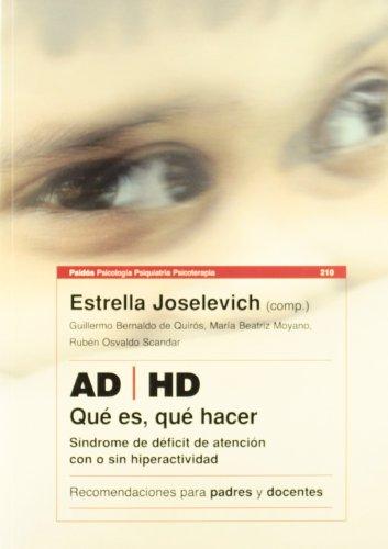 AD/HD Sindrome de Deficit de Atencion Con: Guillermo Bernaldo de