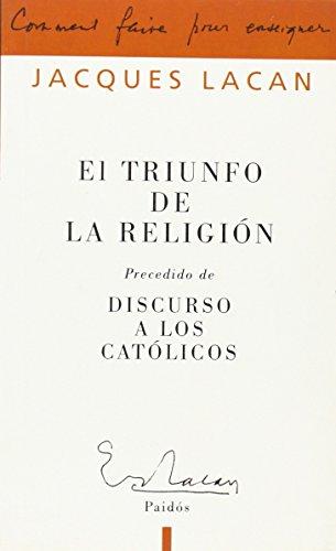 9789501236521: El triunfo de la religión (Campo Freudiano)