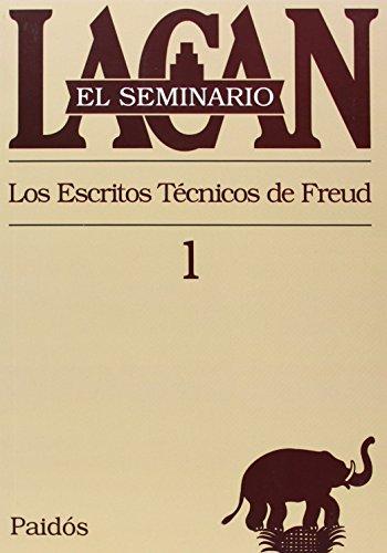 9789501239713: El seminario. Libro 1: Los escritos técnicos de Freud (El Seminario de Jacques Lacan)