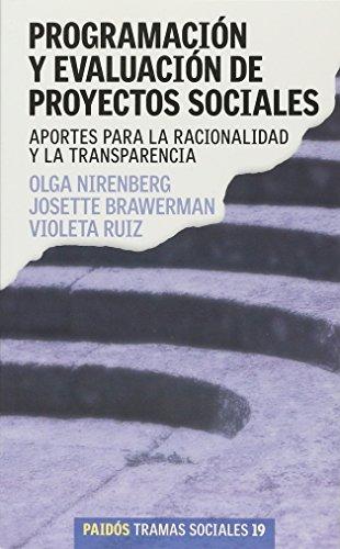 9789501245196: Programacion y Evaluacion de Proyectos. Aportes Para La Racionalidad y La Transparencia / Corporate Radar (Spanish Edition)