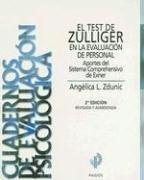 9789501250084: El Test de Zulliger en la Evaluacion de Personal: Aportes del Sistema Comprehensivo de Exner (Cuadernos de Evaluacion Psicologica)