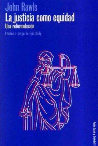 9789501254976: La Justicia Como Equidad (Spanish Edition)