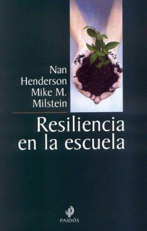 9789501255089: Resiliencia en la escuela (Educador)
