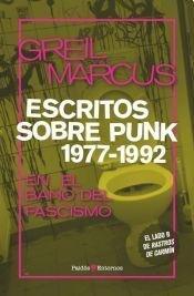 9789501256208: Escritos Sobre Punk 1977 - 1992