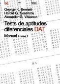 Test de Aptitudes Diferenciales DAT: Con Cuadernillos: George Bennett