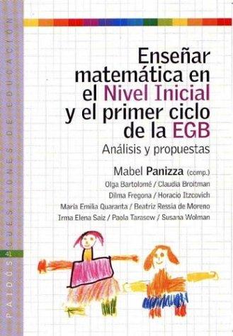 9789501261417: Enseñar matematicas en el nivel inicial y el primer ciclo de la egb (analisis y propuestas)