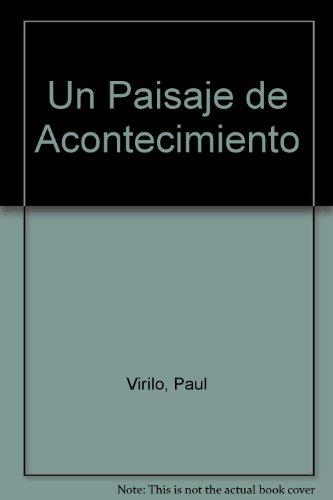 9789501265019: Un Paisaje de Acontecimiento (Spanish Edition)