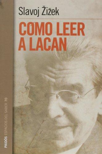 9789501265705: Como leer a Lacan (Spanish Edition)