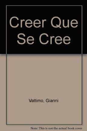 9789501267211: Creer Que Se Cree (Spanish Edition)