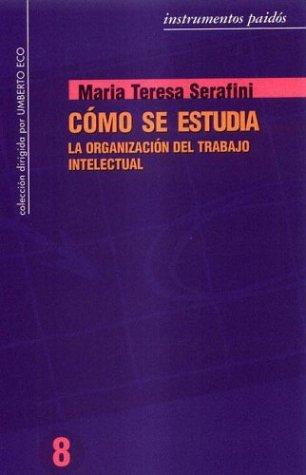 9789501279085: Como Se Estudia (Spanish Edition)