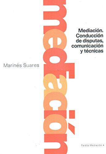 9789501287042: Mediacion conduccion disputas (Paidos Mediacion)