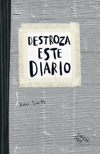 9789501293319: Destroza Este Diario - Gris
