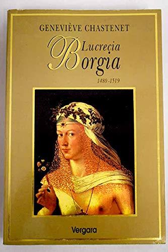9789501515046: Lucrecia borgia