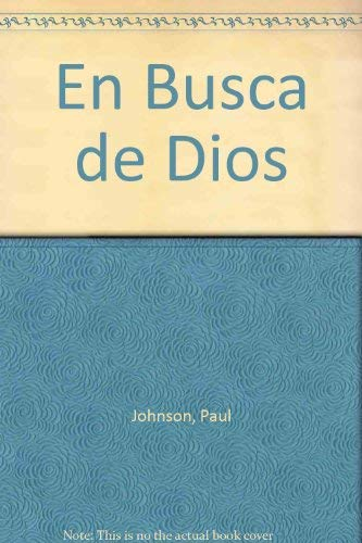 9789501516593: En Busca de Dios