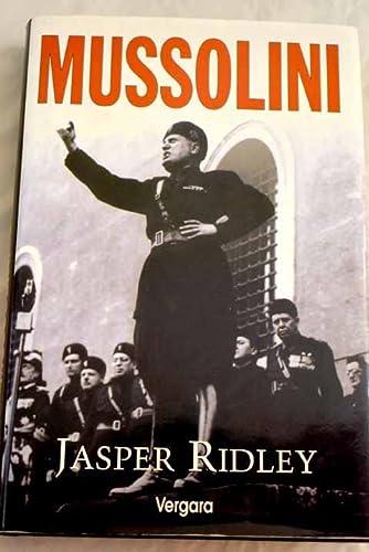 MUSSOLINI: JAVIER RIDLEY