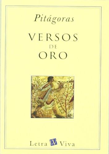 9789501602418: Los Versos de Oro (Spanish Edition)