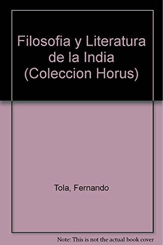 9789501701166: Filosofia y Literatura de la India (Coleccion Horus) (Spanish Edition)