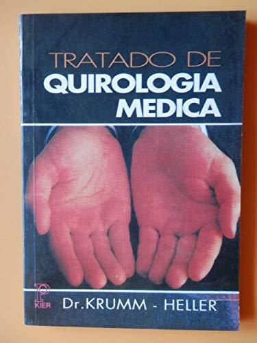 9789501704204: Tratado de Quirologia Medica
