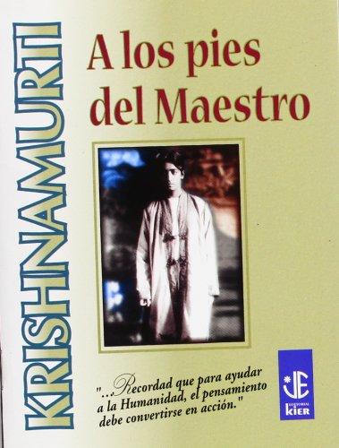 9789501708332: A Los Pies Del Maestro