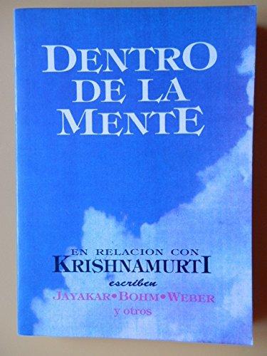9789501711837: Dentro De La Mente