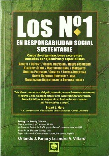 Los No. 1 en responsabilidad social sustentable: Orlando J. Farao;