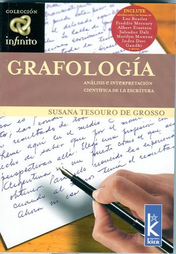 Grafologia (Infinito / Inifinte) (Spanish Edition): Grosso, Susana Tesouro