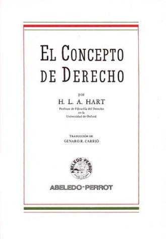 9789502000893: El Concepto de Derecho (Spanish Edition)