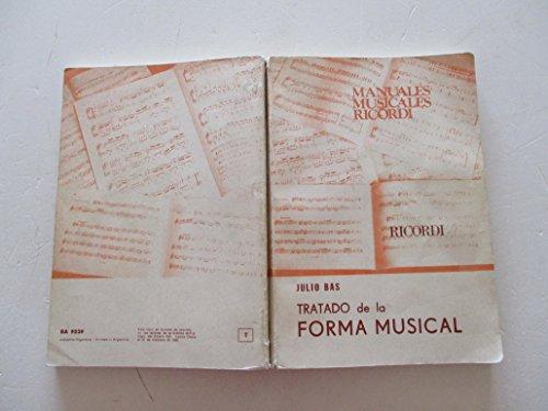 9789502201689: BAS J. - Tratado de la Forma Musical