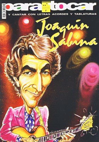 9789502204079: SABINA Joaquin - Cancionero Vol.1 (Letras y Acordes) para Guitarra