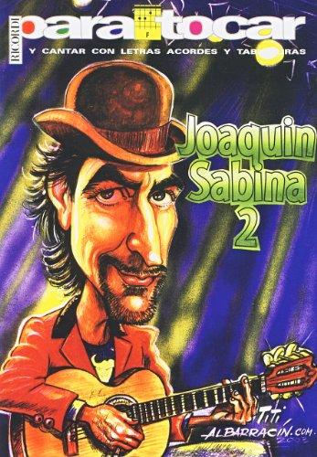 9789502204727: SABINA Joaquin - Cancionero Vol.2 (Letras y Acordes) para Guitarra