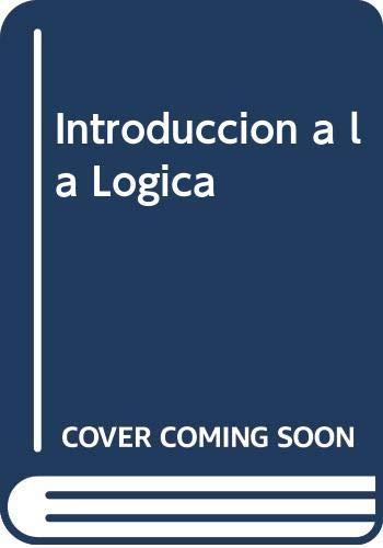 9789502300405: Introduccion a la Logica (Spanish Edition)