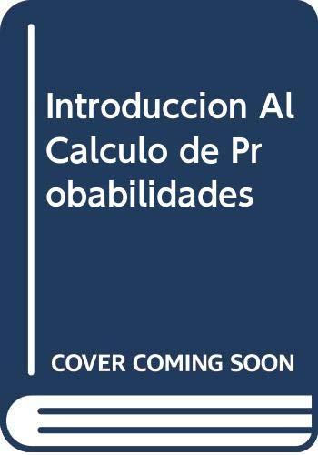 Introduccion Al Calculo de Probabilidades (Spanish Edition): Gnedenko, B. V.