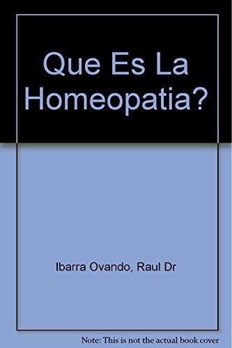 Qué es la homeopatía ?