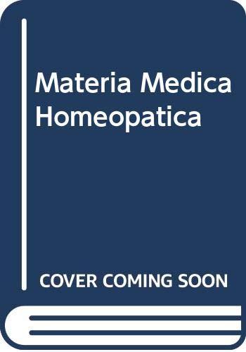 9789502404356: Materia Medica Homeopatica (Spanish Edition)